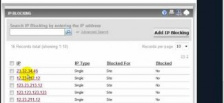 IP Blocking in MarketPowerPRO by MLM Software provider MultiSoft Corporation