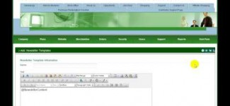 Newsletter management in MarketPowerPRO by MLM Software provider MultiSoft Corporation